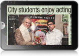 City students enjoy acting session